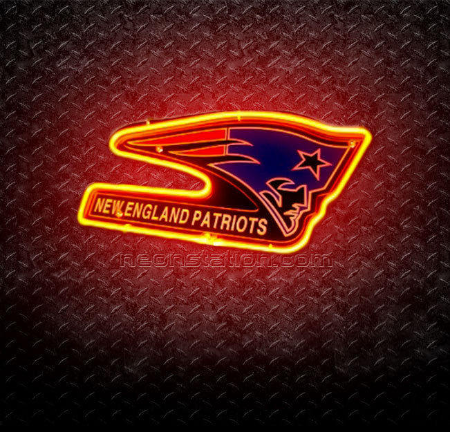 NFL New England Patriots 3D Neon Sign