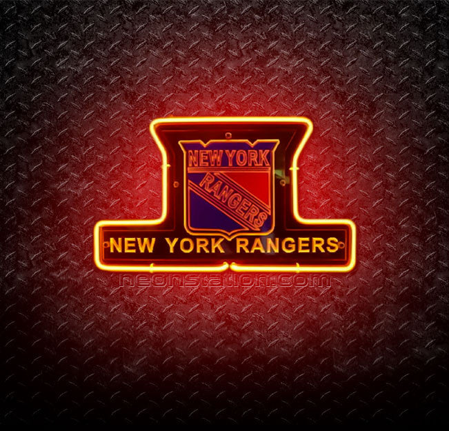 NHL New York Rangers 3D Neon Sign
