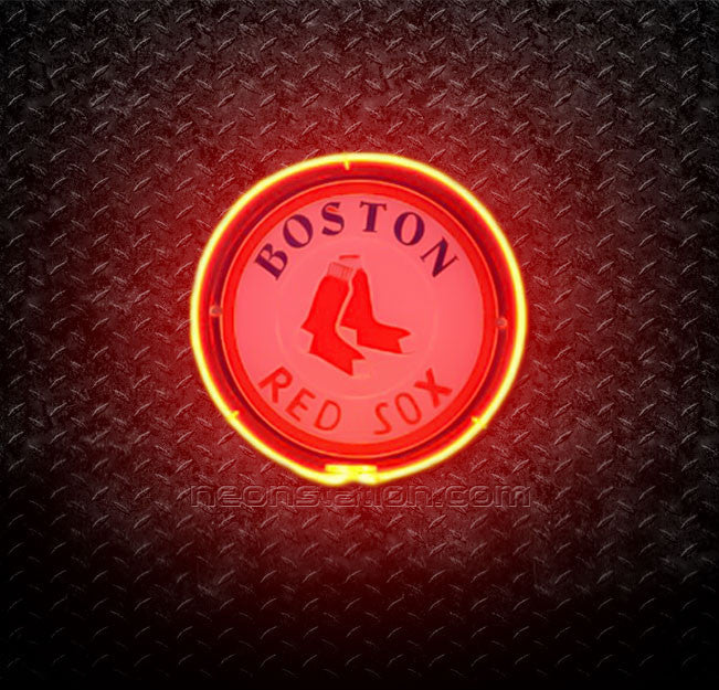 MLB Boston Red Sox 3D Neon Sign