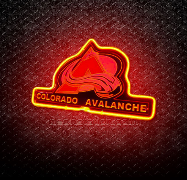 NHL Colorado Avalanche 3D Neon Sign