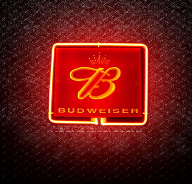 Budweiser The King of Beers 3D Neon Sign