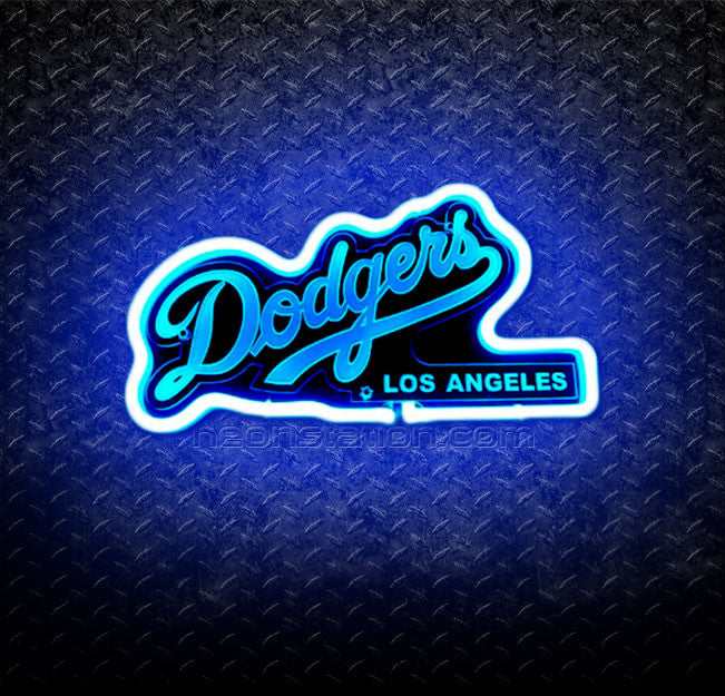 MLB Los Angeles Dodgers 3D Neon Sign