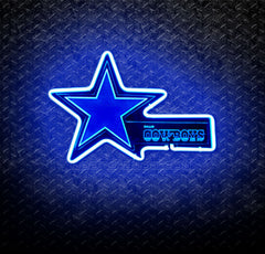 NFL Dallas Cowboys 3D Neon Sign