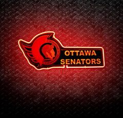 NHL Ottawa Senators 3D Neon Sign