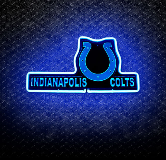 NFL Indianapolis Colts 3D Neon Sign