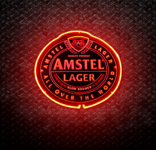 Amstel Lager 3D Neon Sign