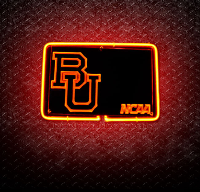 Boston University Terriers 3D Neon Sign