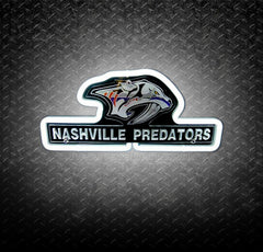 NHL Nashville Predators 3D Neon Sign