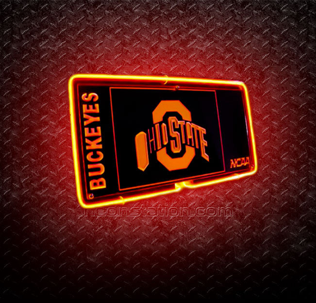NCAA Ohio State Buckeyes 3D Neon Sign