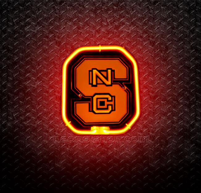 NCAA North Carolina State NCS 3D Neon Sign