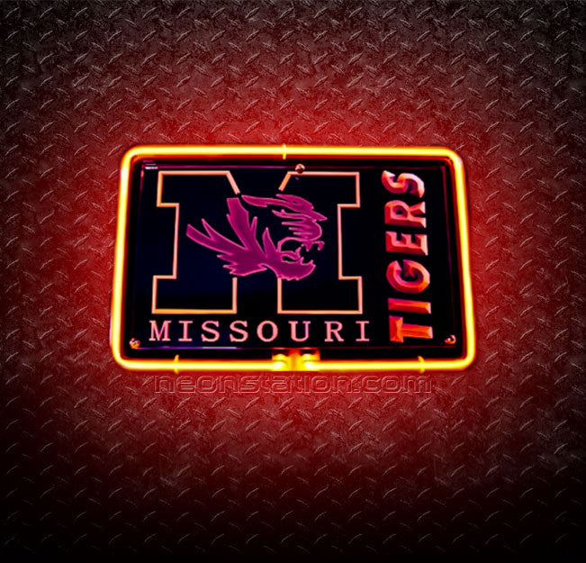 NCAA Missouri Tigers 3D Neon Sign