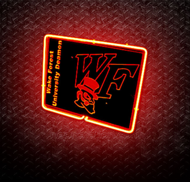 NCAA Wake Forest Demon Deacons 3D Neon Sign
