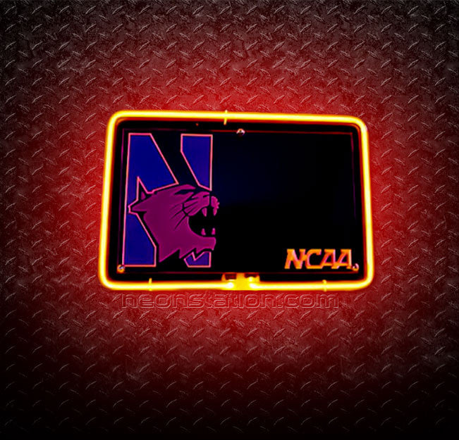 NCAA Pittsburgh Panthers 3D Neon Sign