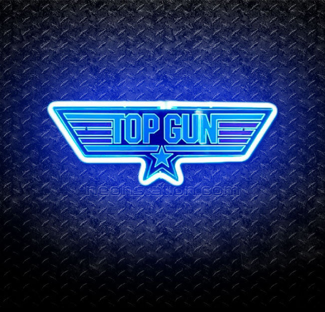 Top Gun 3D Neon Sign