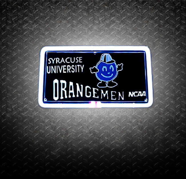 NCAA Syracuse University Orangemen 3D Neon Sign