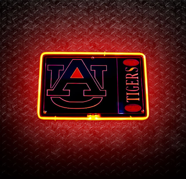 NCAA Auburn Tigers 3D Neon Sign
