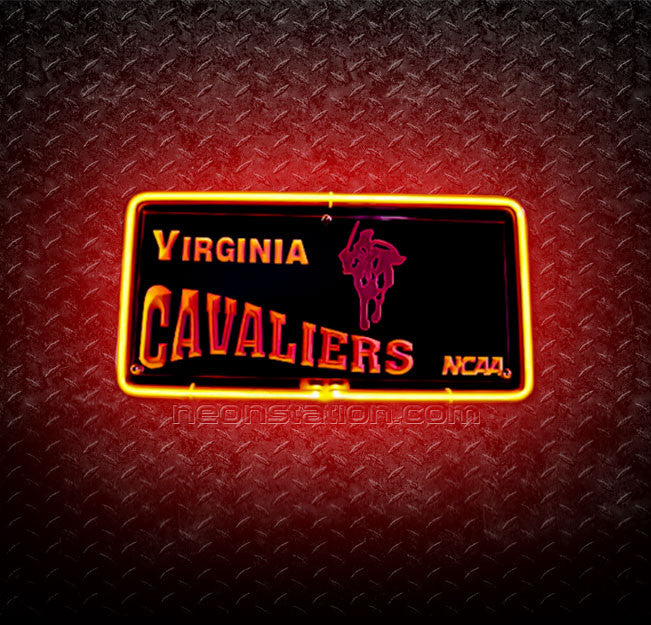 NCAA Virginia Cavaliers 3D Neon Sign