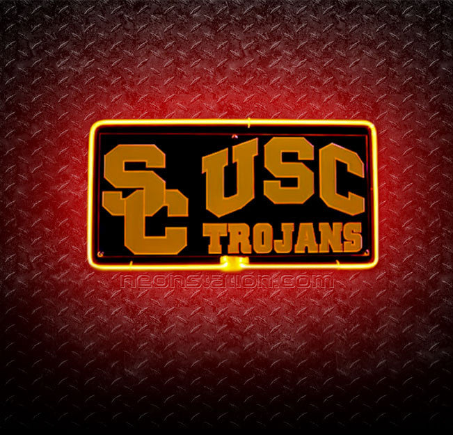 NCAA University Southern California USC Trojans Neon Sign