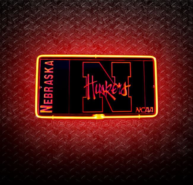 University Of Nebraska Huskers 3D Neon Sign
