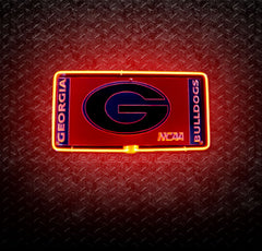 NCAA Georgia Bulldogs 3D Neon Sign