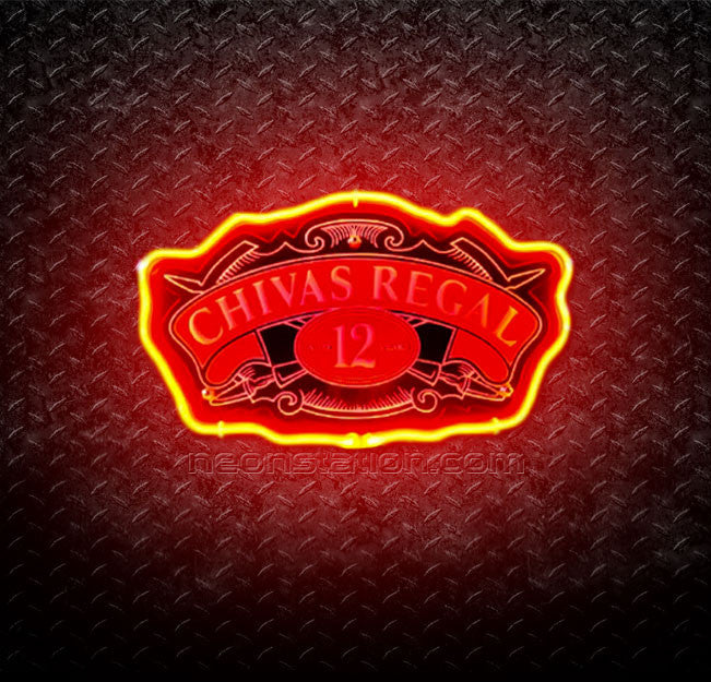Chivas Regal 12 Year Old 3D Neon Sign