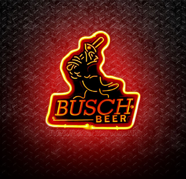 NFL Busch St. Louis Cardinals 3D Neon Sign