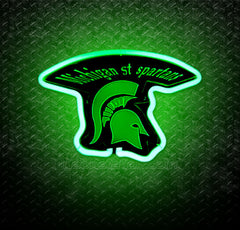 NCAA Michigan State Spartans 3D Neon Sign