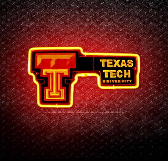 Texas Tech University 3D Neon Sign
