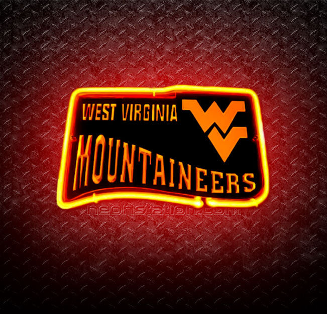 NCAA West Virginia University 3D Neon Sign