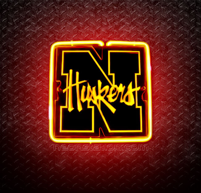 NCAA Nebraska Cornhuskers 3D Neon Sign