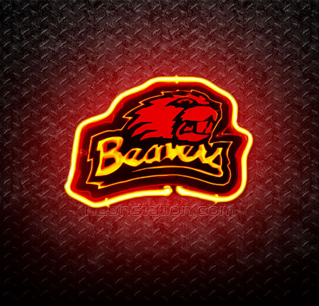 NCAA Oregon State Beavers 3D Neon Sign
