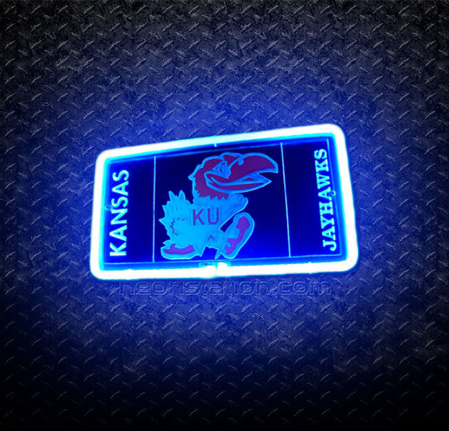 NCAA Kansas Jayhawks 3D Neon Sign