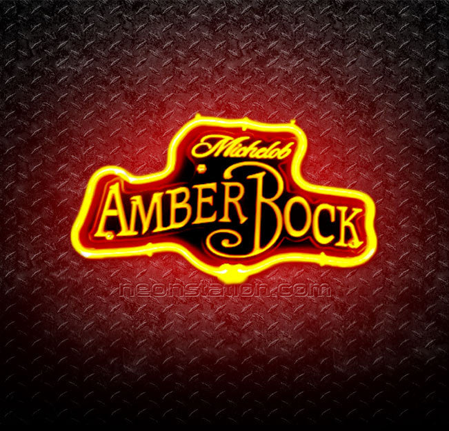 Michelob AmberBock 3D Neon Sign