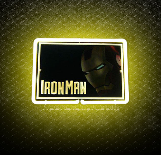 Ironman 3D Neon Sign