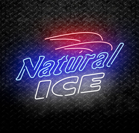 Natural Ice Neon Sign