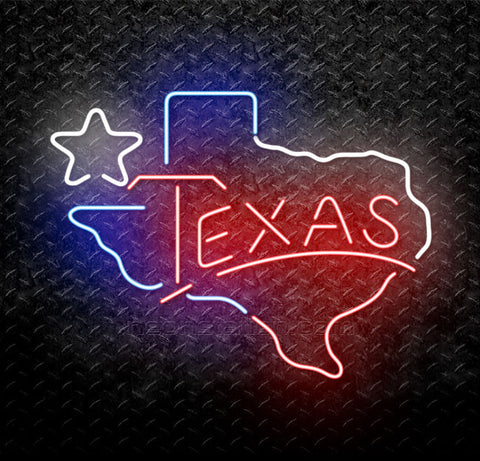 Lone Star Texas Neon Sign