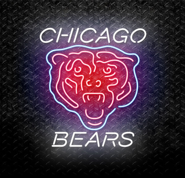 5fce2e62508 Buy NFL Chicago Bears Neon Sign Online    Neonstation