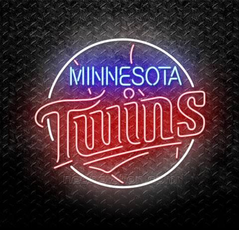 MLB Minnesota Twins Neon Sign