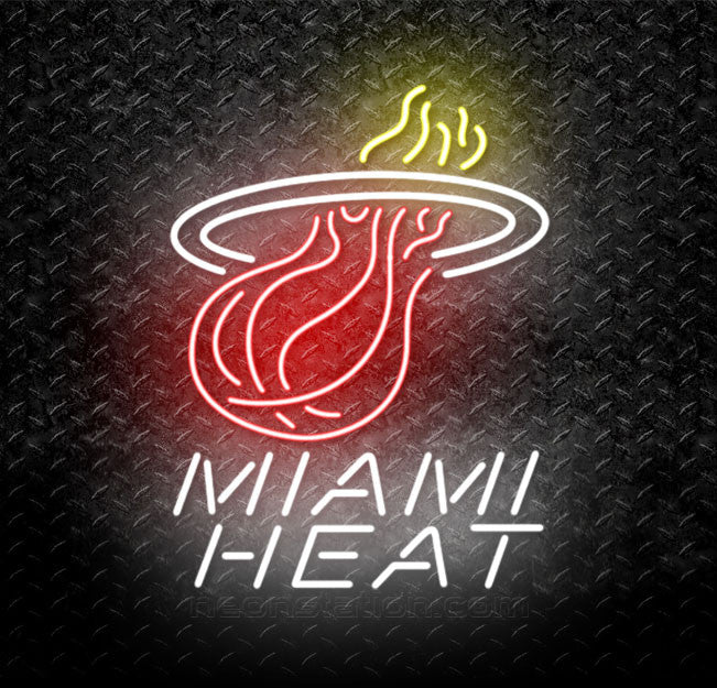 e690ada6eff Buy NBA Miami Heat Neon Sign Online    Neonstation