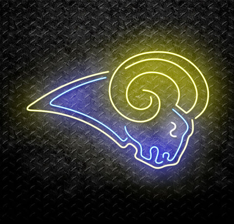 NFL St Louis Rams Neon Sign