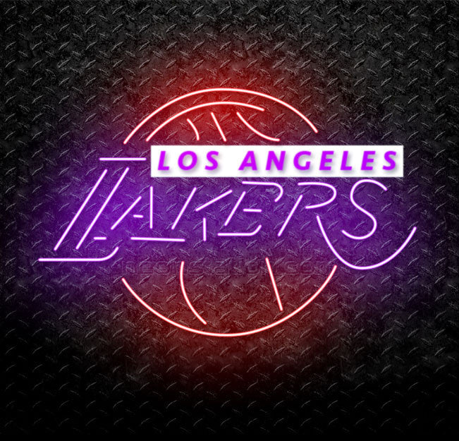 7f0e5ce173c Buy NBA Los Angeles LA Lakers Neon Sign Online    Neonstation