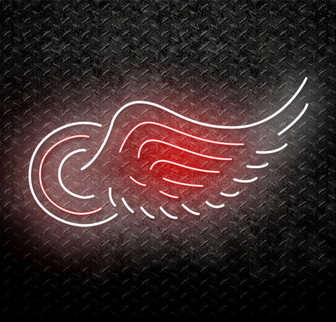 NHL Detroit Red Wing Neon Sign