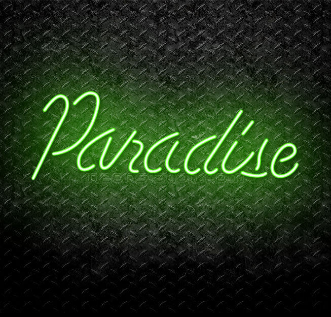 Paradise Neon Sign