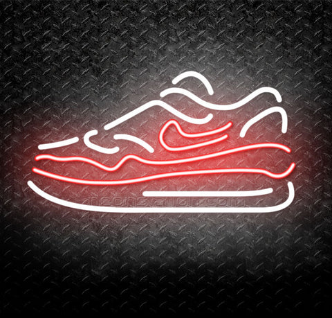 Nike Sneakers Neon Sign