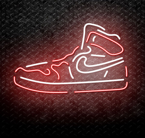 Nike Sneakers Dunk High Neon Sign