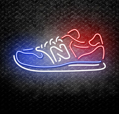 New Balance Sneakers Neon Sign