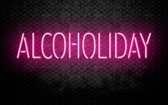 Alcoholiday Neon Sign