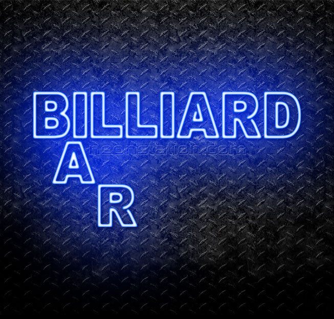 Bar Billiard Neon Sign