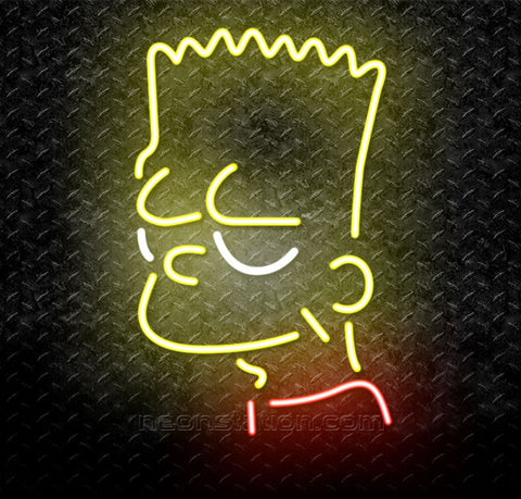Bart Simpson Neon Sign