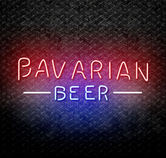 Bavarian Beer Neon Sign